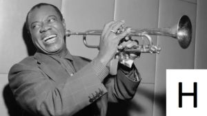 H Louis Armstrong trumpet